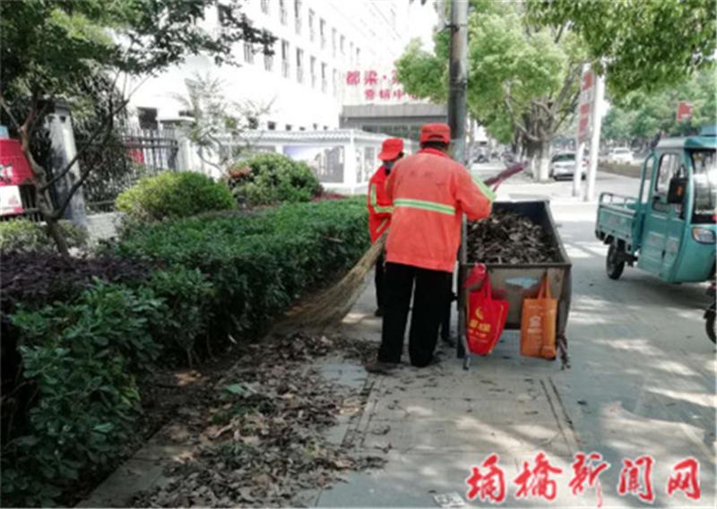 宿州市城管局埇桥分局组织开展绿化带垃圾清理行动2.png