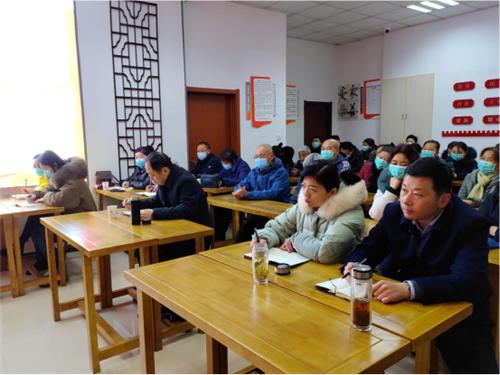 埇桥区南关街道:张建军宣讲党的十九届五中全会精神